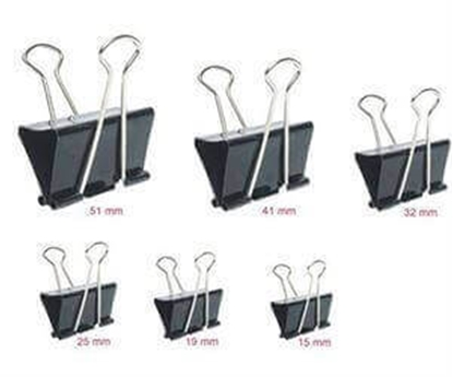 Picture of Binder Clips 41 mm (Doz)