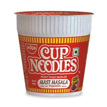 Picture of Nissin Cup Noodles Masala - 70 Gm
