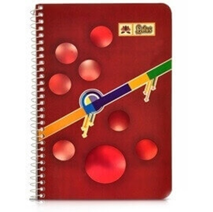 Picture of Hans - Notebook - No. 4 A5 Size 80 Pages - Pack of 10