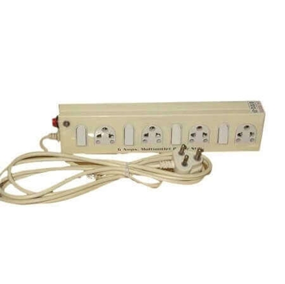 Power Strip 4Plus1 6 Amp 9 Yds Power Cable