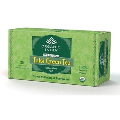 Organic India Tulsi Green Tea - Pack of 25