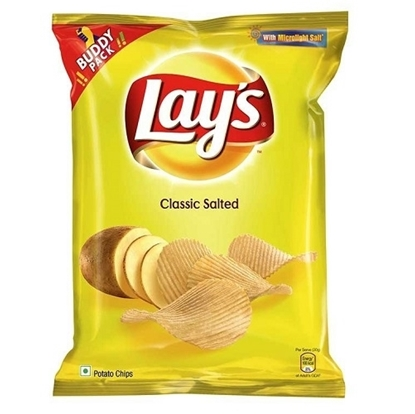 Lay's Potato Chips - Classic Salted 50 Gms