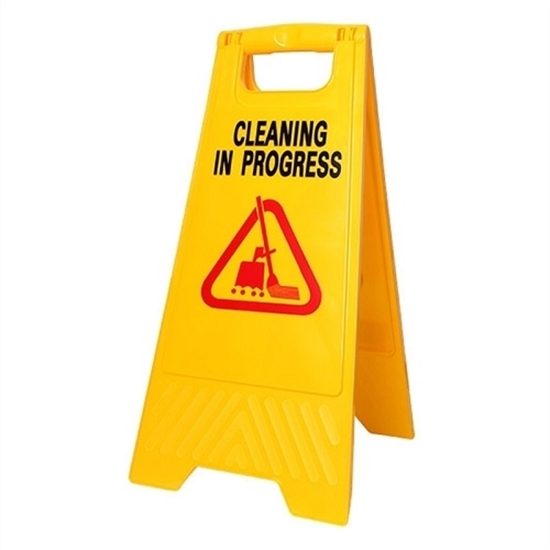 Safety Work Floor Signage - Cleaning In Progress