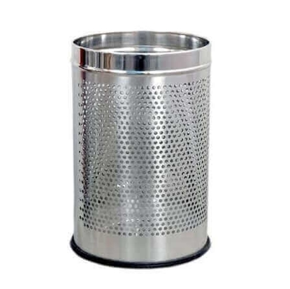 Stainless Steel Dustbin Without Lid - Small