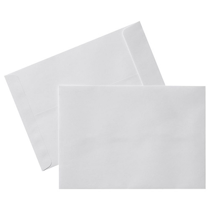 "Laminated White Envelopes 12""X16"""