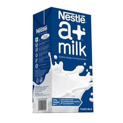 Nestle A+ Toned Milk 1 Ltr