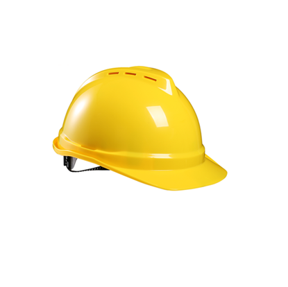 Industrial Safety Helmet with adjustable Ratchet and Strap