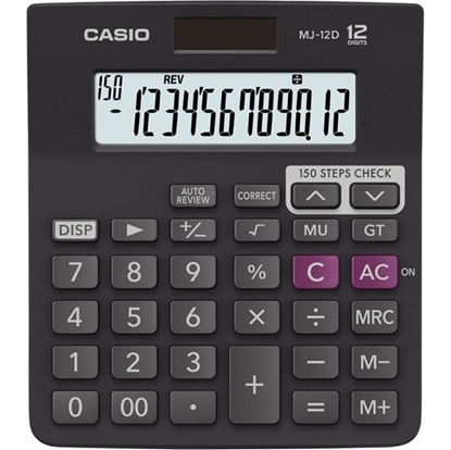Casio Desktop Calculator 12 Digit MJ-12D